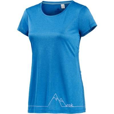 OCK Funktionsshirt Damen blau / melange