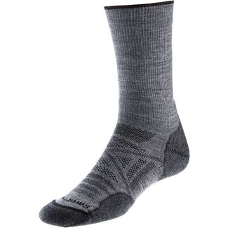 Smartwool Outdoor Light Crew Wandersocken Herren grau