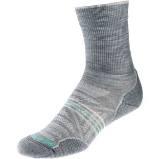 Smartwool Outdoor Light Crew Wandersocken Damen hellgrau