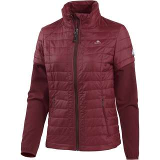 OCK Steppjacke Damen bordeaux