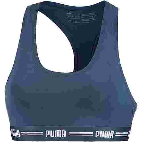PUMA Iconic Bustier Damen dunkelblau