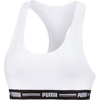PUMA Iconic Bustier Damen white