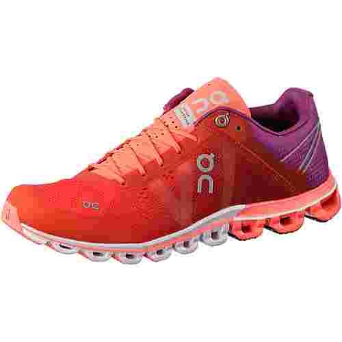 ON Cloudflow Laufschuhe Damen rotlila im Online Shop von SportScheck kaufen