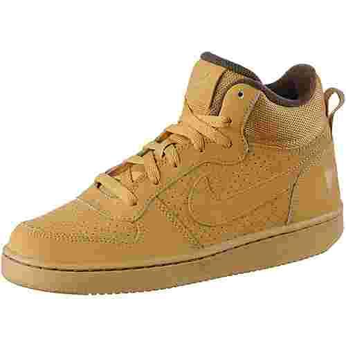 Nike Court Borough Sneaker Kinder beige