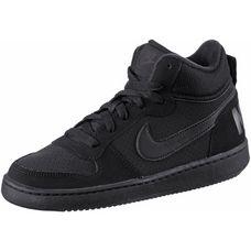 Nike Court Borough Sneaker Kinder schwarz