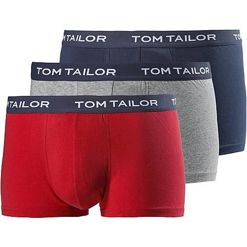 TOM TAILOR Boxer Herren rot/grau/navy