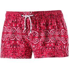Maui Wowie Badeshorts Damen rot/schwarz/weiß