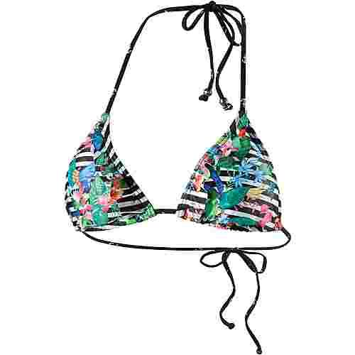 Maui Wowie Bikini Oberteil Damen schwarz/weiß/bunt