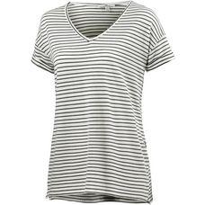 Mavi V-Shirt Damen weiß/schwarz