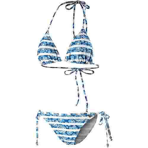 Maui Wowie Coloured Tribe Bikini Set Damen blau/weiß