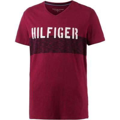 Tommy Hilfiger T-Shirt Herren dunkelrot