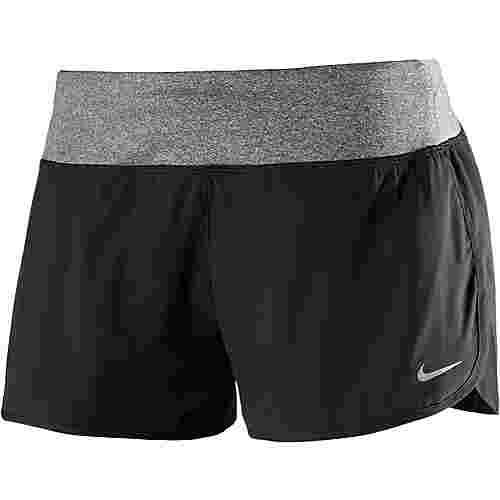 Nike Rival Laufshorts Damen schwarz