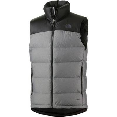 The North Face Nuptse 2 Daunenweste Herren grau