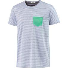 LTB Walima T-Shirt Herren blau/weiß