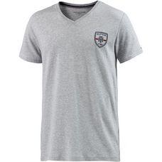 Tommy Hilfiger V-Shirt Herren graumelange