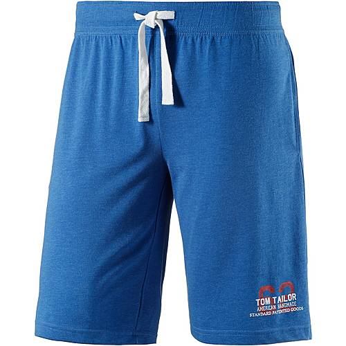 TOM TAILOR Shorts Herren royal blau