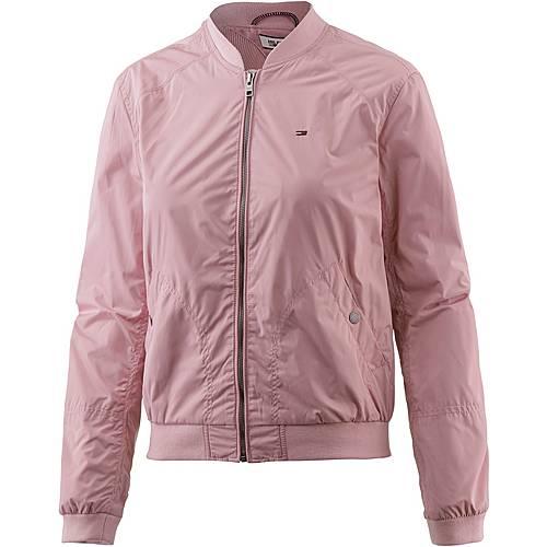 tommy hilfiger bomberjacke damen rosa im online shop von sportscheck kaufen. Black Bedroom Furniture Sets. Home Design Ideas