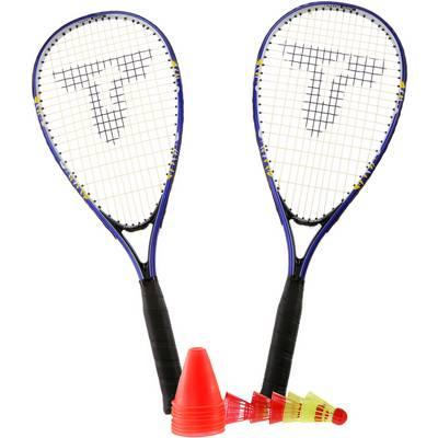 Talbot-Torro Speed 6000 Badminton Set blau/gelb
