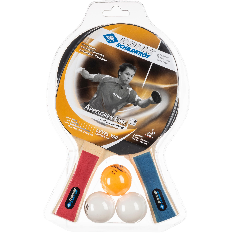 V3Tec VTec Line 100 Tischtennis Komplettset Netzgarnitur+3Bälle+Tasche TT NEU