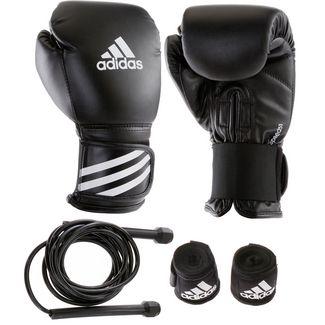 adidas Boxset Boxhandschuhe schwarz
