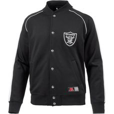 Majestic Athletic Oakland Raiders Collegejacke Herren schwarz