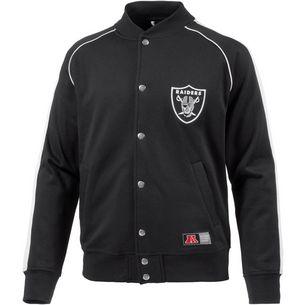 Majestic Athletic Oakland Raiders Collegejacke Herren schwarz