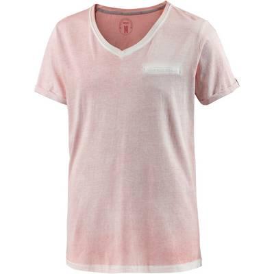 M.O.D T-Shirt Herren hellrot washed