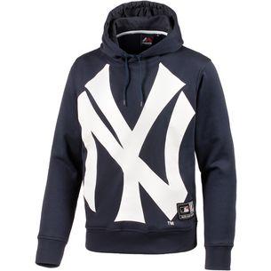 Majestic Athletic New York Yankees Hoodie Herren navy/weiß