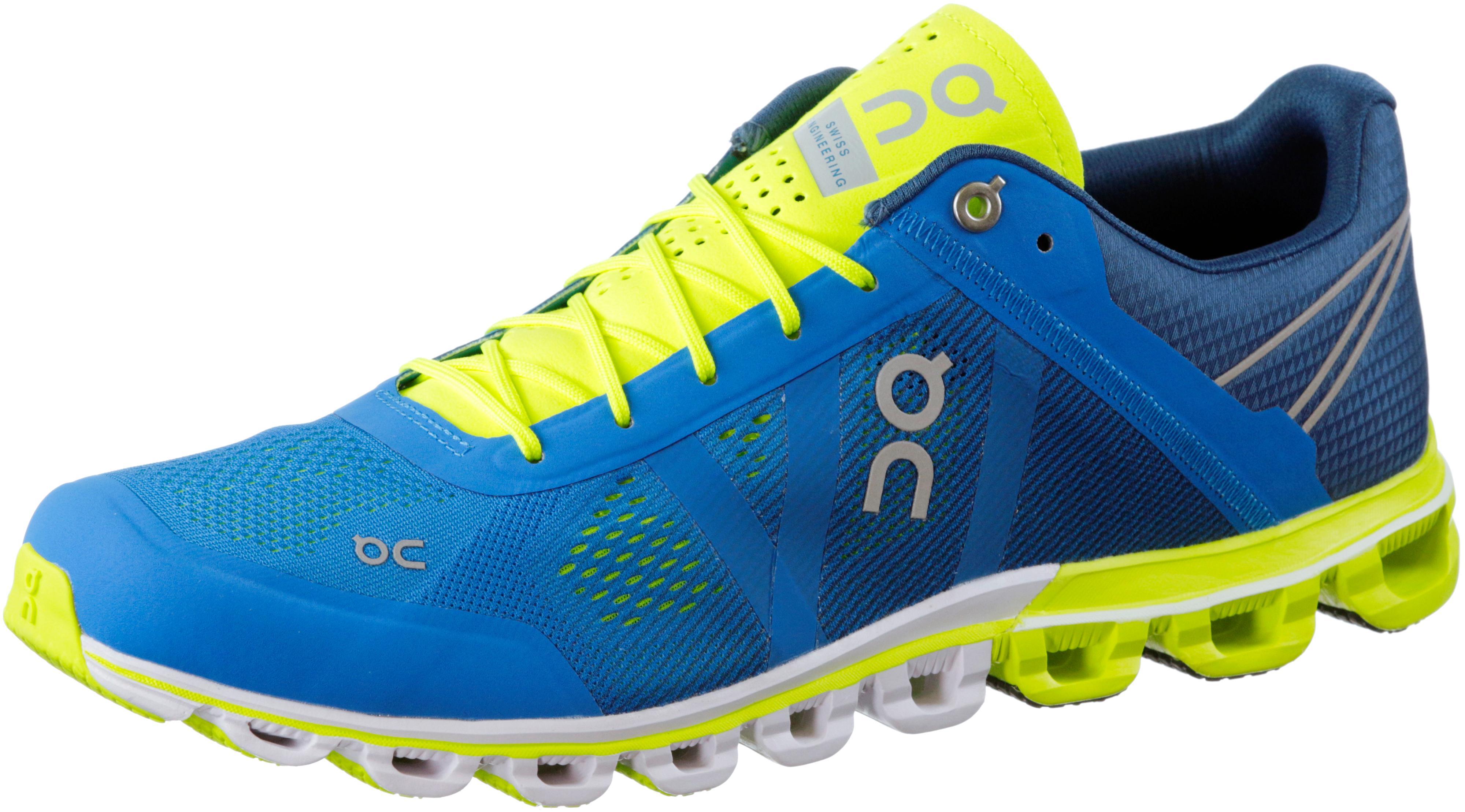 ON Cloudflow Laufschuhe Herren blaugelb im Online Shop von SportScheck kaufen