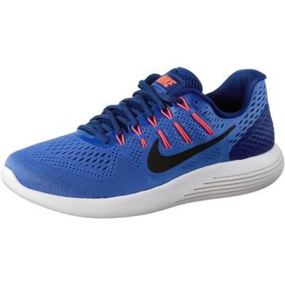 Nike Lunarglide 8 Laufschuhe Herren blau/orange
