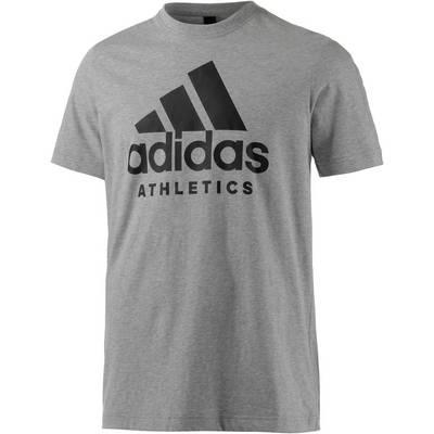 adidas SID Branded Printshirt Herren grau