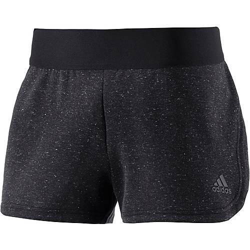 adidas STADIUM Shorts Damen schwarz/melange