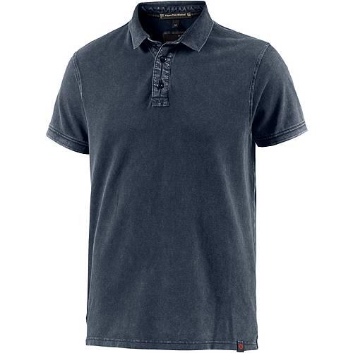 TIMEZONE Poloshirt Herren dunkelblau washed