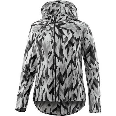 Nike Impossibly Light Hooded Laufjacke Damen grau/weiß