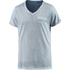 M.O.D T-Shirt Herren blau washed