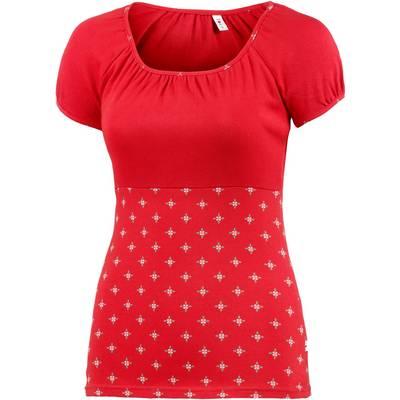 Blutsgeschwister T-Shirt Damen rot