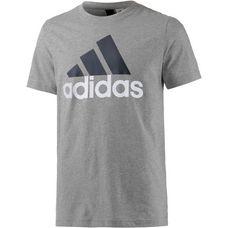 adidas Essential Linear T-Shirt Herren grau