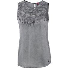 Mogul Tanktop Damen grey washed