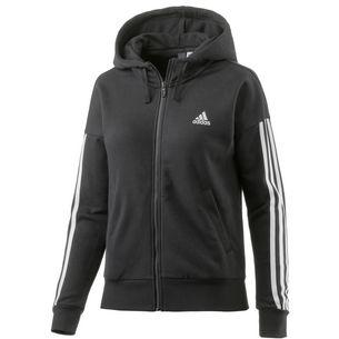 adidas Essentials Sweatjacke Damen schwarz