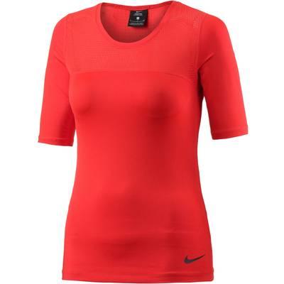Nike Pro Hypercool Funktionsshirt Damen rot
