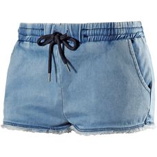 Superdry Shorts Damen blau