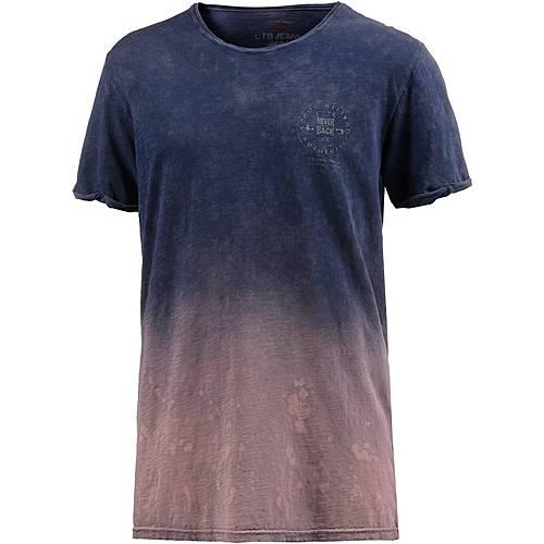LTB Mitazi T-Shirt Herren navy/bordeaux