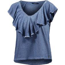 Pepe Jeans V-Shirt Damen blau washed
