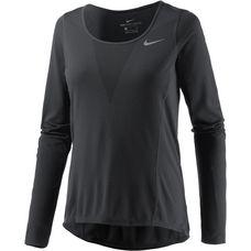 Nike Laufshirt Damen schwarz