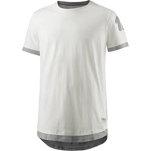 TOM TAILOR T-Shirt Herren ecru