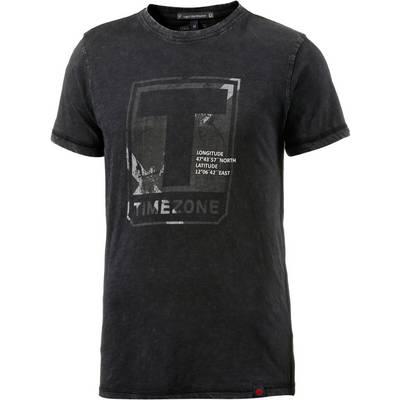 TIMEZONE Printshirt Herren anthrazit washed