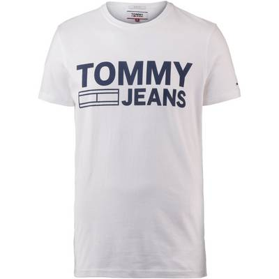 Tommy Hilfiger Printshirt Herren classic white