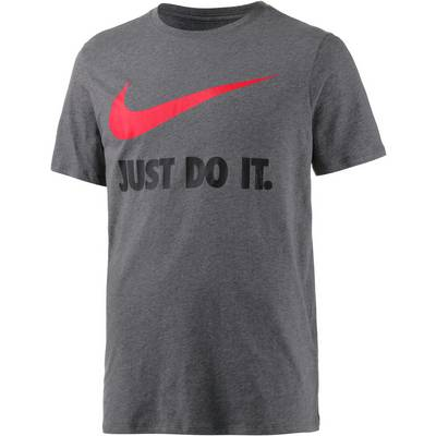Nike New JDI Swoosh Printshirt Herren dunkelgraumelange
