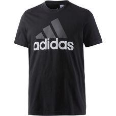 adidas Essential Linear T-Shirt Herren schwarz