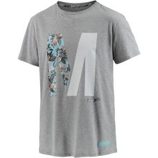 Mazine Printshirt Herren graumelange